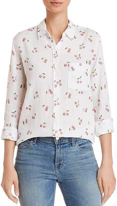 Rails Charli Cherry Print Shirt