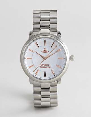 Vivienne Westwood VV196SLSL Shoreditch Bracelet Watch In Silver