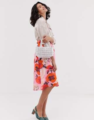 5bf1f54ce889 Gestuz Violetta floral print midi skirt