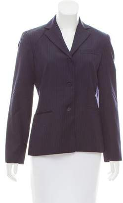 Brooks Brothers Pinstripe Wool Blazer