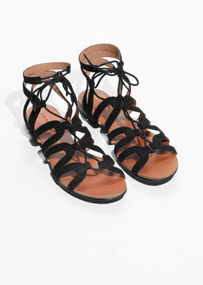 And other stories Lacing Sandals