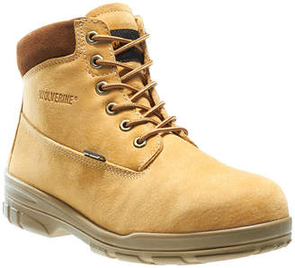 40231b864a01 Wolverine Mens Durashocks Waterproof Slip Resistant Insulated Lace-up Work  Boots