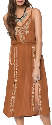 Women's O'Neill Mustang Embroidered Slipdress $59.50 thestylecure.com