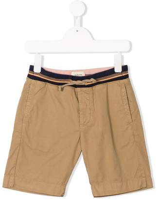 Bellerose Kids Pike striped waist shorts