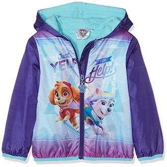 Nickelodeon Girl's Paw Patrol Just Yelp for Help Coat,(Manufacturer Size: 6 Years)
