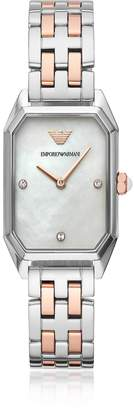 Emporio Armani Gioia Two Tone Women's Watch