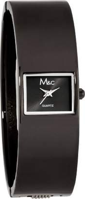 MC M&c Women's | Black Fashion Bangle Watch | FC0338