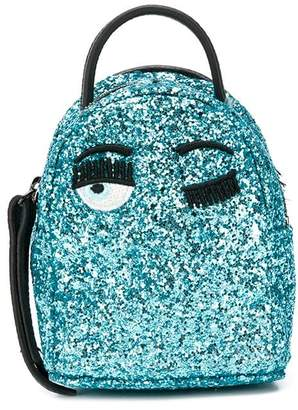 Chiara Ferragni glitter Flirting backpack