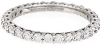 Tiffany & Co. Platinum Embrace Wedding Band Ring Size 6.5