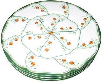 One Kings Lane Vintage Haviland Limoges Plates Set of 4 - The Emporium Ltd.