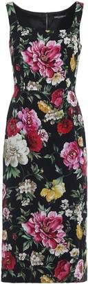 Dolce & Gabbana Cady Sleeveless With Strap Dress