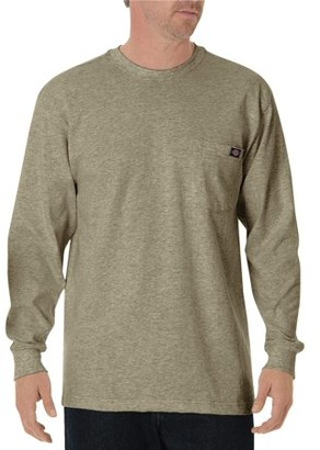 Dickies Men's Long Sleeve Heavyweight Crew Neck Tee