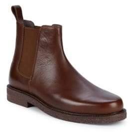 Donald J Pliner Len Leather Chelsea Boots