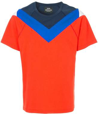 Mads Norgaard panelled short sleeve T-shirt