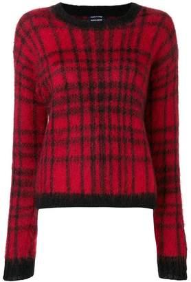 Woolrich grid pattern jumper