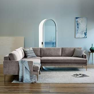 west elm Andes L-Shaped Sectional
