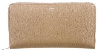 CelineCéline Leather Continental Wallet