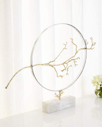 John-Richard Collection Hoop & Branch Sculpture