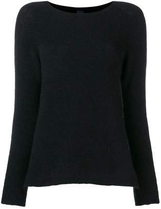 Max Mara round neck slim-fitted pullover