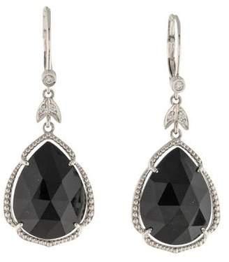 Penny Preville 18K Onyx & Diamond Drop Earrings