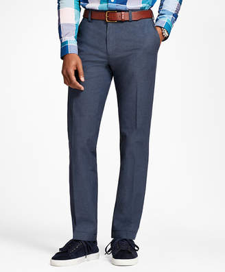 Brooks Brothers Stretch-Cotton End-On-End Pants