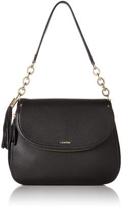 Calvin Klein Lynn Pebble Flap Hobo Shoulder Bag Hobo Bag