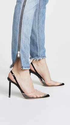 Alexander Wang Alix High Heel Slingback Pumps
