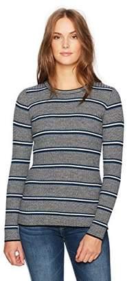 Pendleton Women's Stripe Merino Crew Neck Sweater