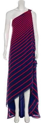 Halston Silk Maxi Dress w/ Tags