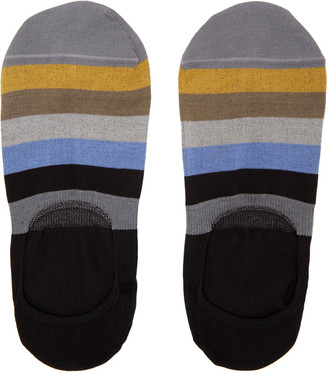 Paul Smith Multicolor Block Loafers Socks $20 thestylecure.com