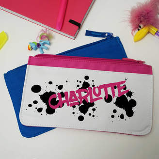 Equipment Perfect Personalised Gifts Graffiti Personalised Pencil Case