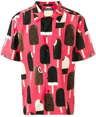Dolce & Gabbana Ghiaccioli print shirt