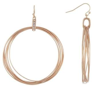 Melrose and Market 50mm Multi Wire Hoop Earrings