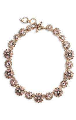 Marchesa Crystal Collar Necklace