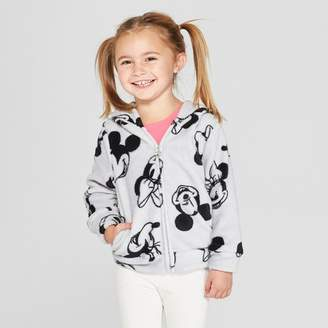 Disney Toddler Girls' Mickey Mouse & Friends Minnie Mouse Sweatshirt - Gray