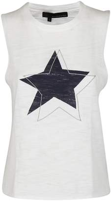 360 Sweater 360sweater Star Print Tank Top