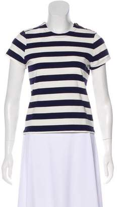 MDS Stripes Striped Short Sleeve Top w/ Tags