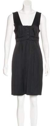 Burberry Sleeveless Knee-Length Dress