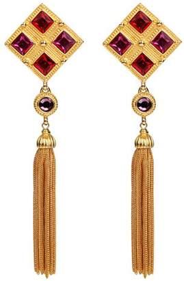 Ben-Amun Ben Amun Multi Color Clip Earrings