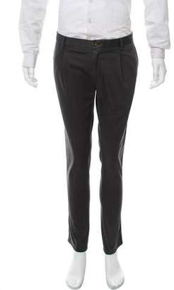 Trussardi Pleated Twill Pants w/ Tags