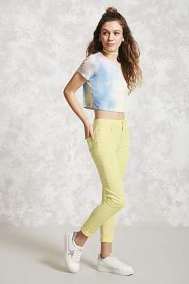 Forever 21 Skinny Ankle Jeans