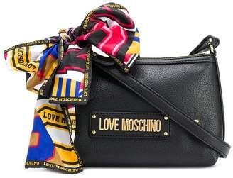 Love Moschino bow detail shoulder bag
