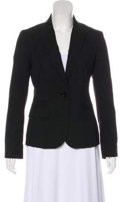 Tory Burch Peak-Lapel Wool Blazer