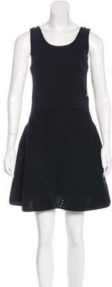Chanel 2015 Knit Sleeveless Dress