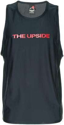 The Upside logo print tank top