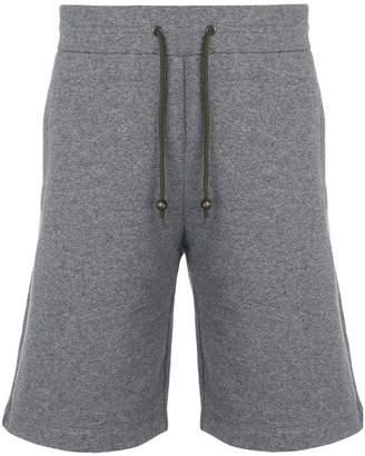 Mr & Mrs Italy knee length fleece shorts