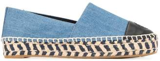 Tory Burch colour block espadrilles