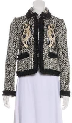 Gucci 2017 King Charles Tweed Jacket w/ Tags