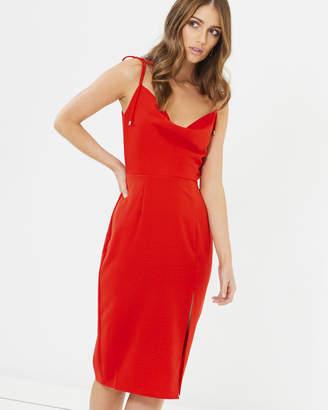 Sadie Cowl Neck Dress