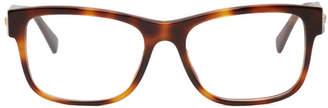 Versace Tortoiseshell Medusa Glasses